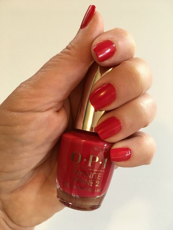 Home Manicure with OPI Infinite Shine