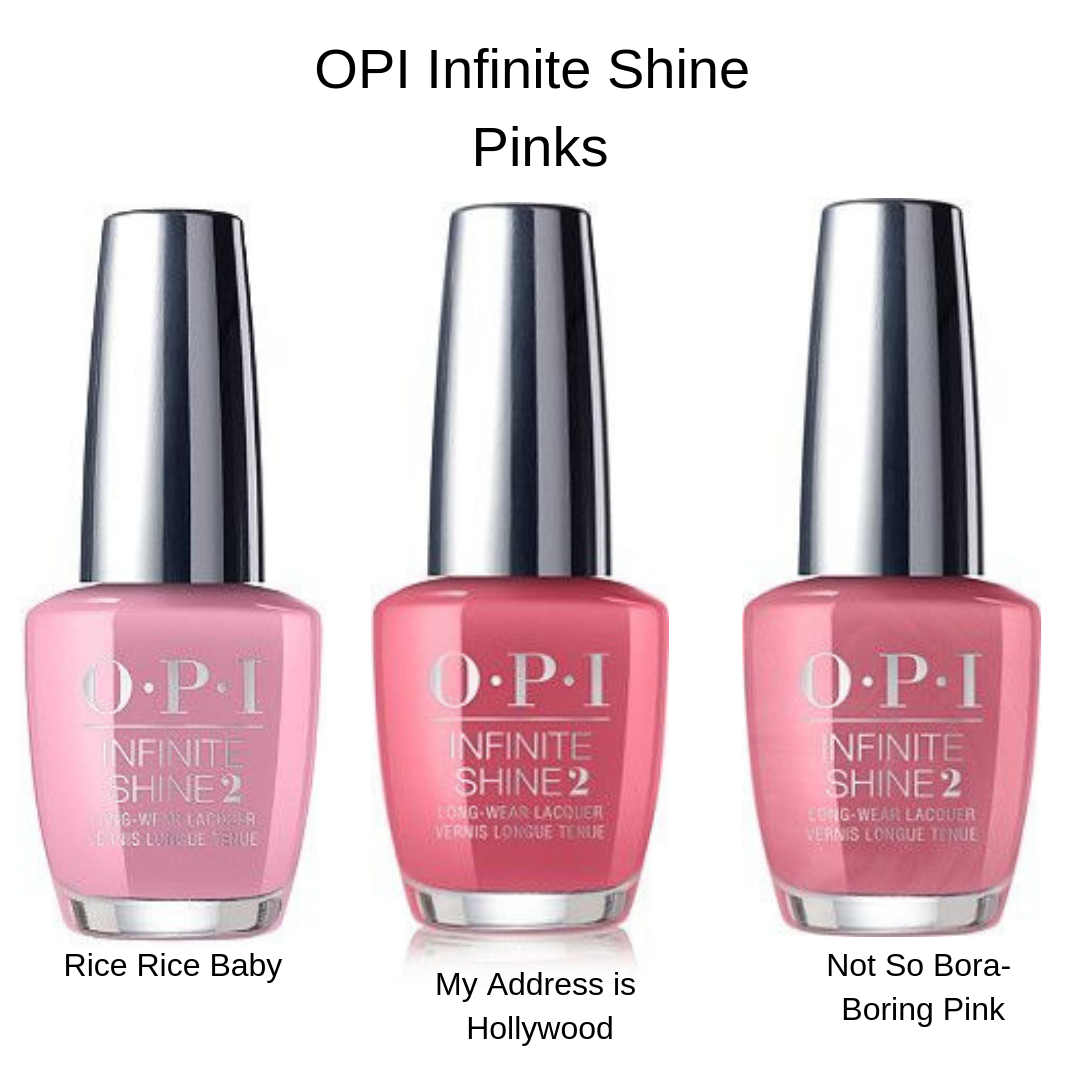 OPI Infinite Shine Pinks
