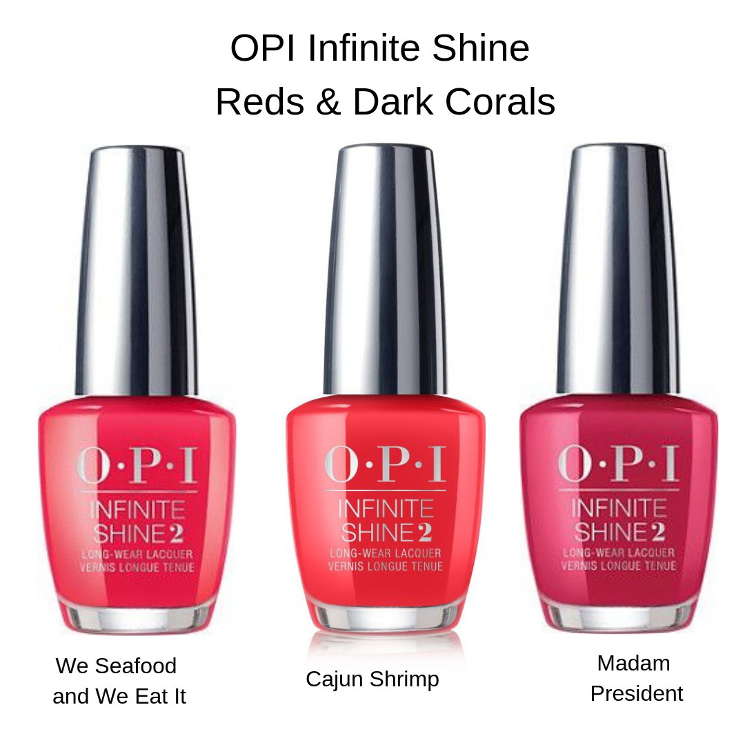 OPI Infinite Shine Red Coral