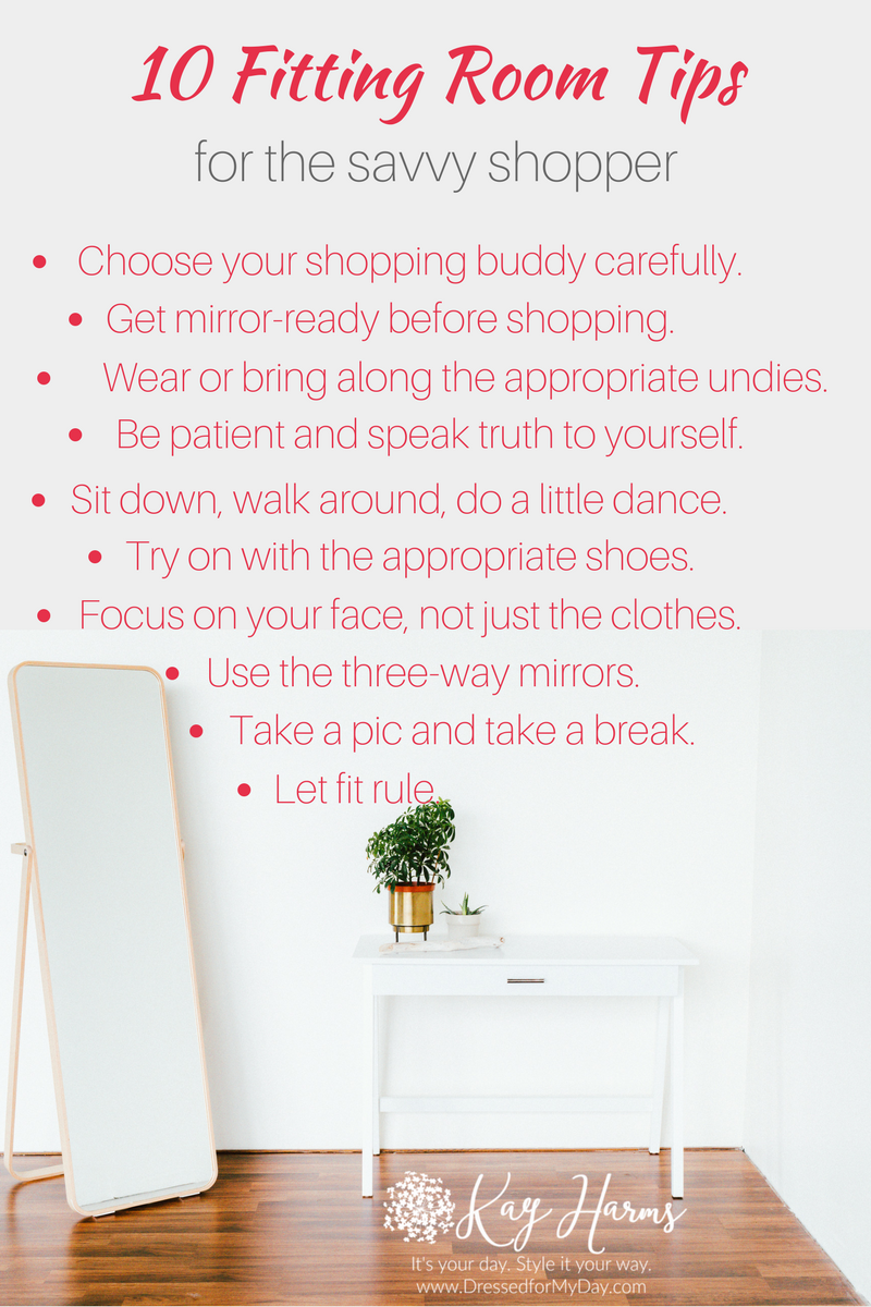 10 Fitting Room Tips