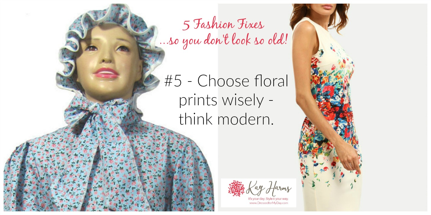 Choose Floral Prints Carefully