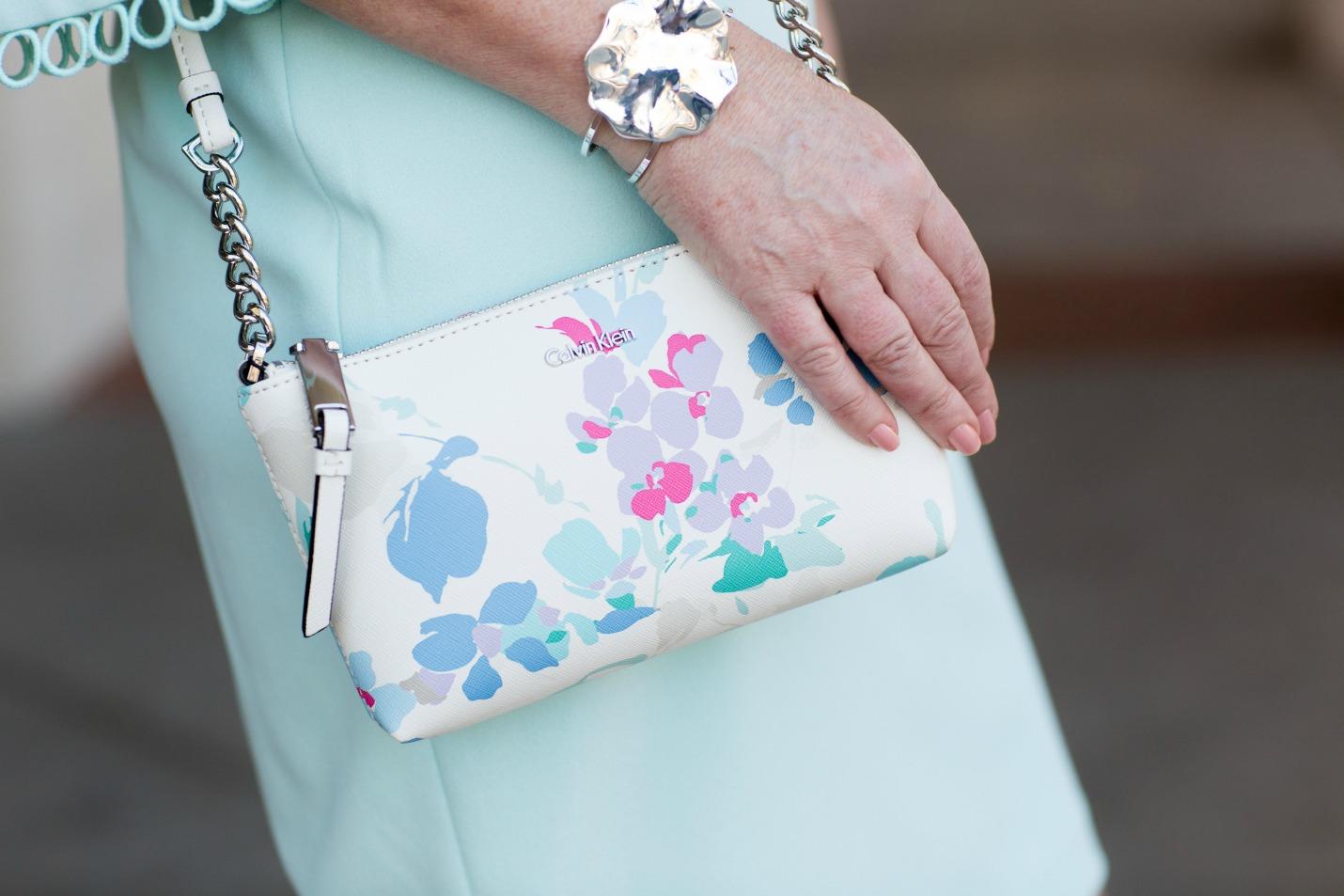 Calvin Klein Printed Cross Body Handbag