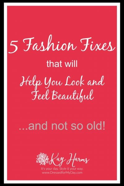 Five Fashions Fixes to Look Younger