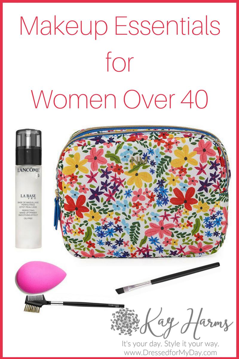 Makeup Essentials for Women Over 40