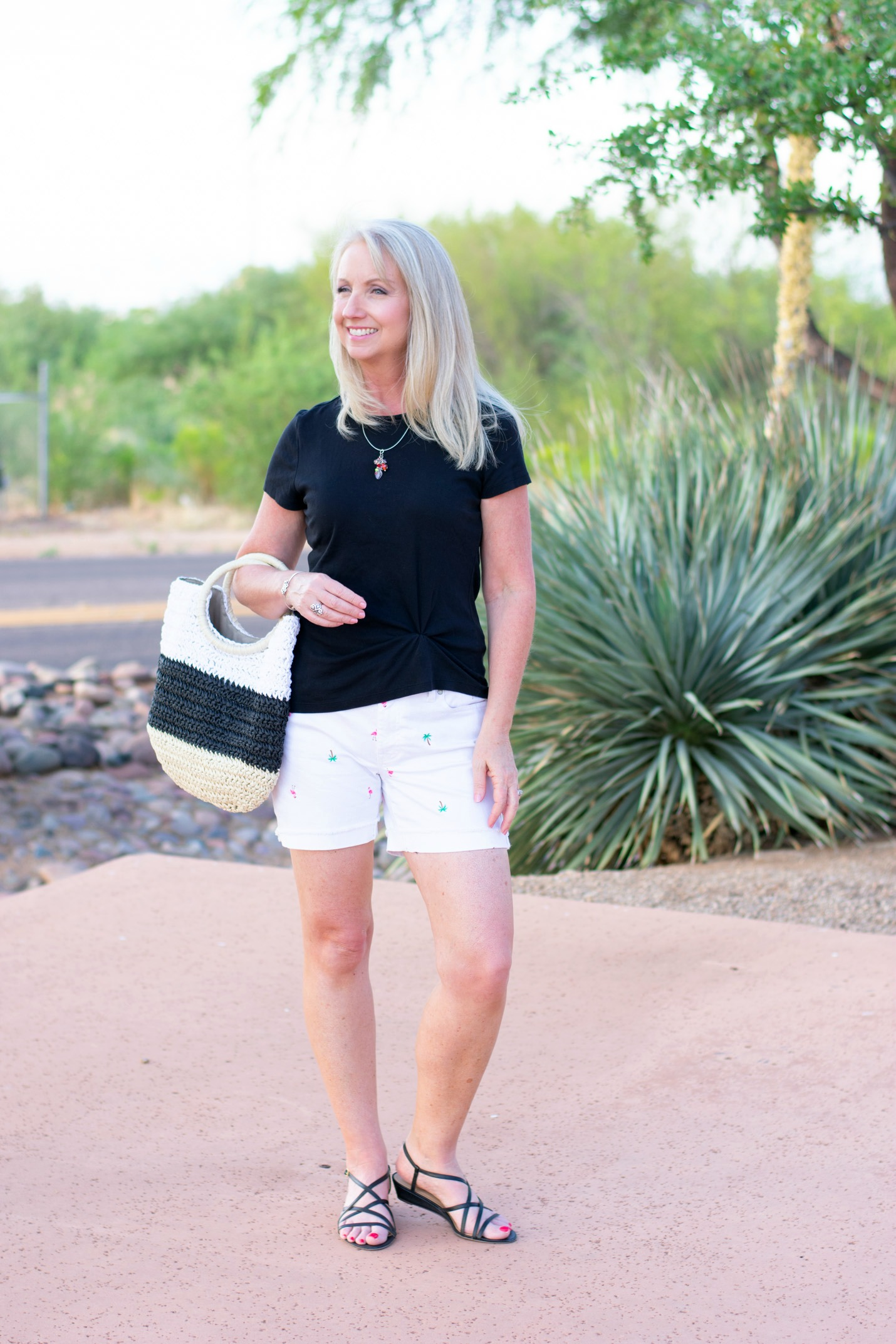 How to Style Novelty Print Shorts