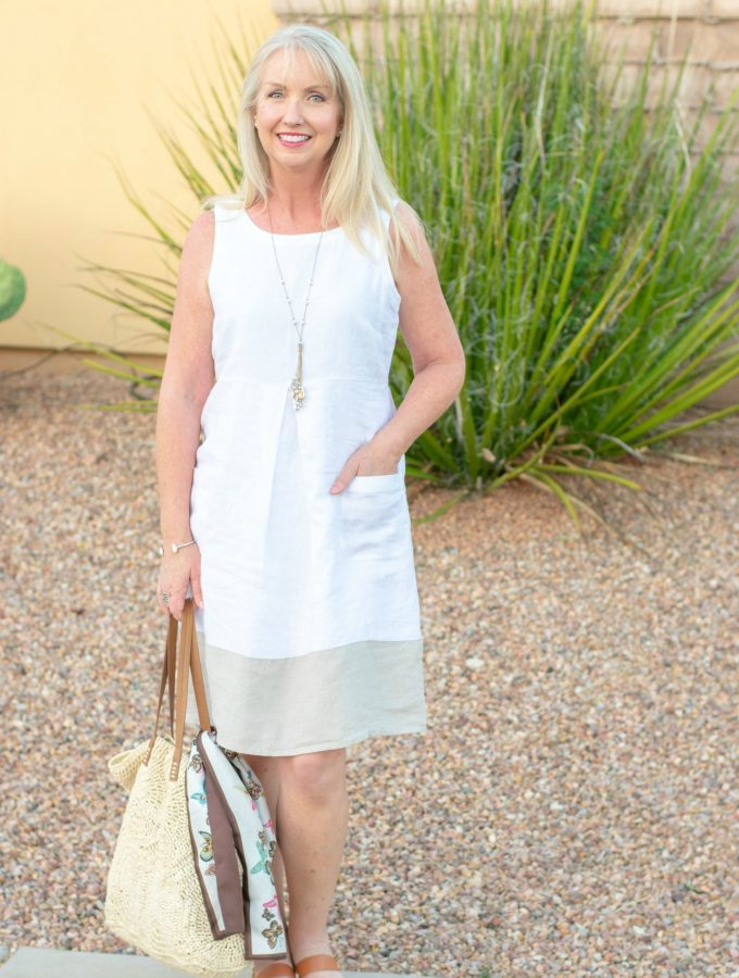 Linen Summer Dress from J.Jill