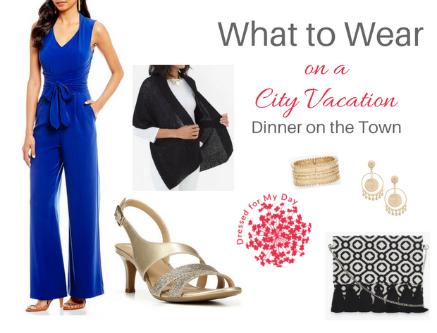 What to Wear City Vacation Dinner on the Town
