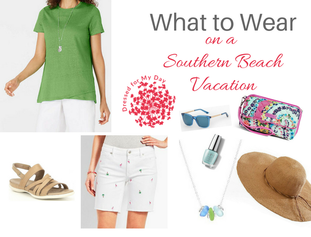 What to Wear Southern Beach Vacation Shopping Sightseeing