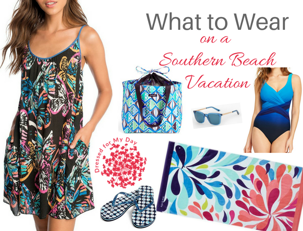 What to Wear Southern Beach Vacation for a day on the beachs