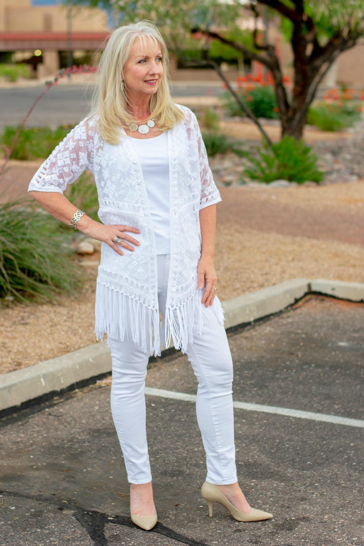 White Jeans All White