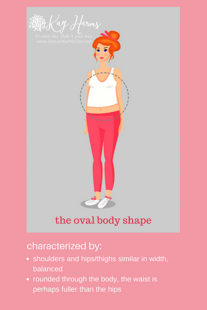 the oval or O body shape