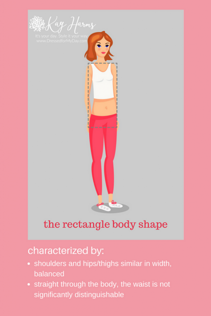 the rectangle or H or I body shape