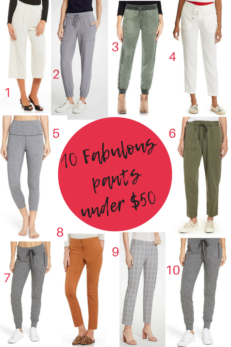 50 Fabulous Findsunder $50 - 10 Fabulous Pants under $50