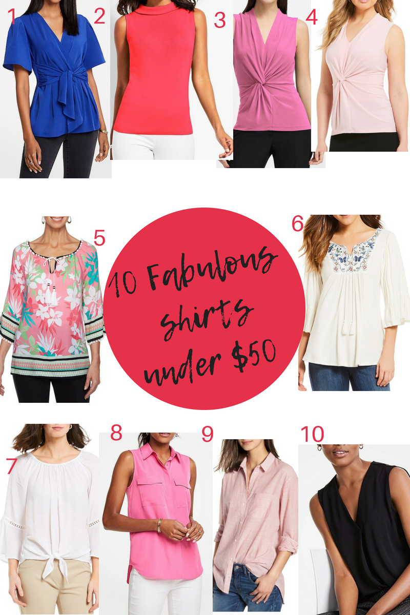 50 Fabulous Findsunder $50 - 10 Fabulous shirts under $50