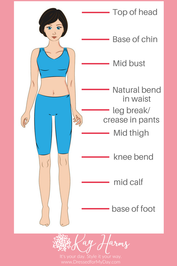 How to Discover Your Body Proportions Measurements