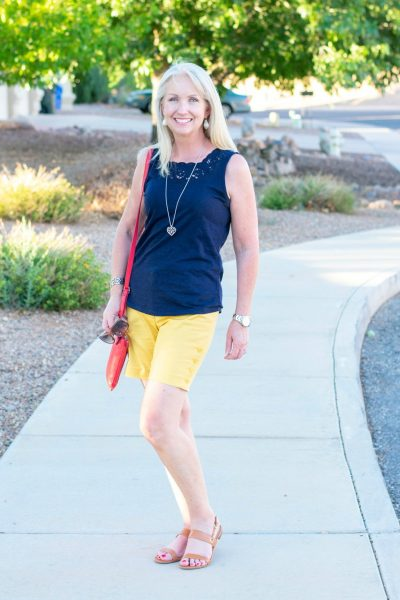 Simple Shorts Outfit for Any Day