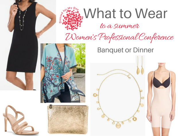 What to Wear Women's Professional Conference Banquet or Dinner