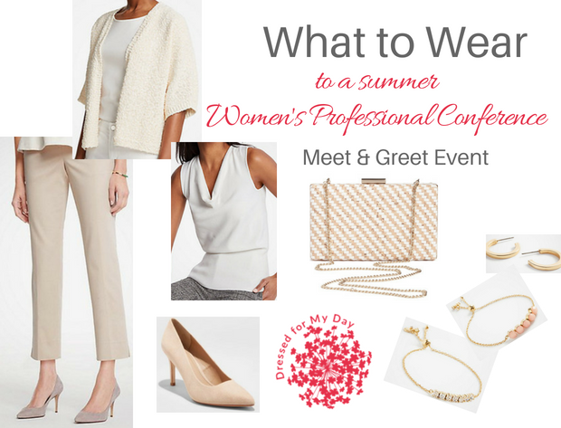What to Wear Women's Professional Conference Meet & Greet Event