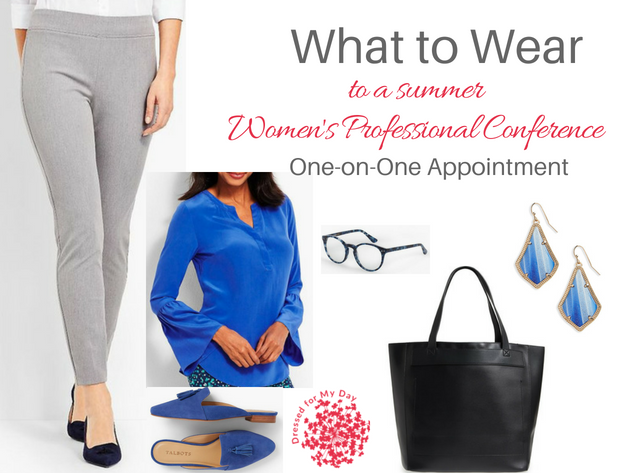 What to Wear Women's Professional Conference One on One