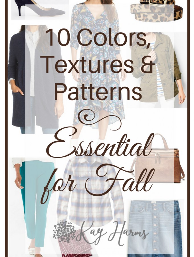 10 Colors, Textures and Patterns Essential for Fall