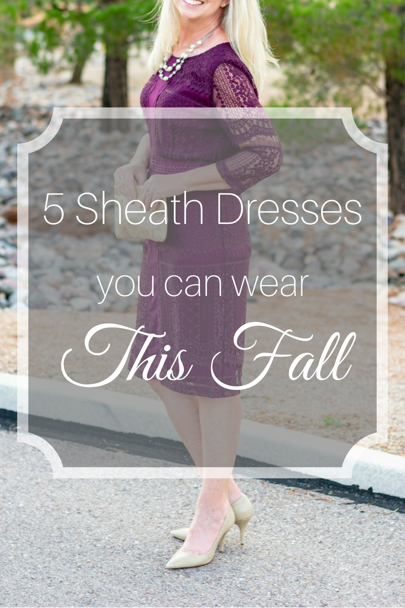 5 Sheath Dresses You Can Wear This Fall