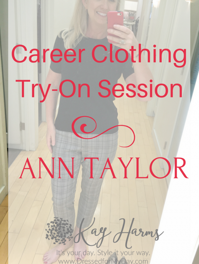 Career Clothing Try-On Session