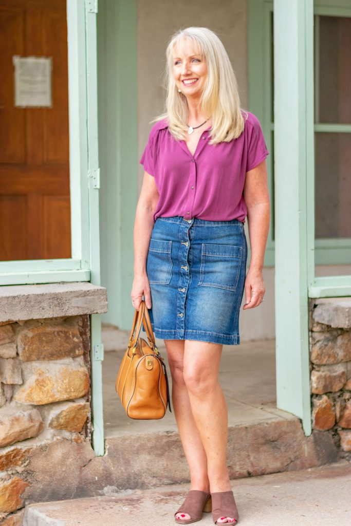 Denim-Skirt-How-to-Style-Kay-Harms