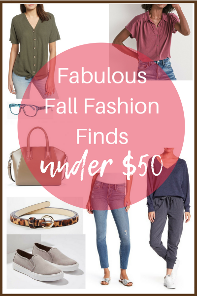 Fabulous Fall Fashion Finds under 50