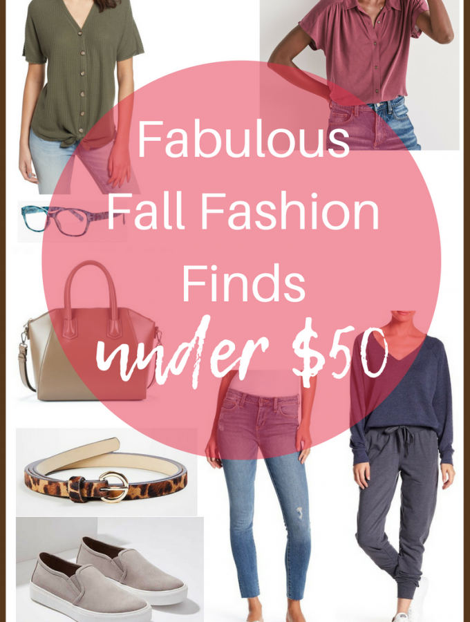 Fabulous Fall Fashion Finds under $50