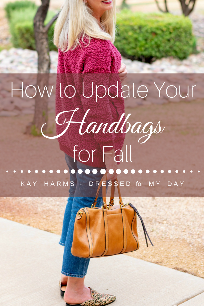 How to Update Your Handbags for Fall