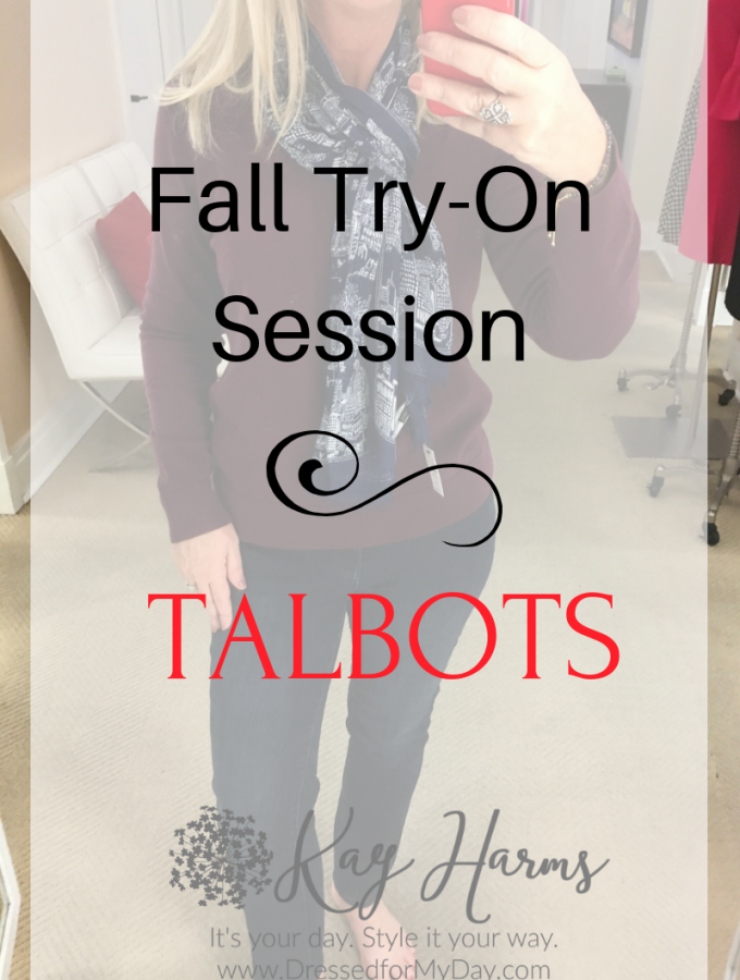 Fall Try-On Session Talbots