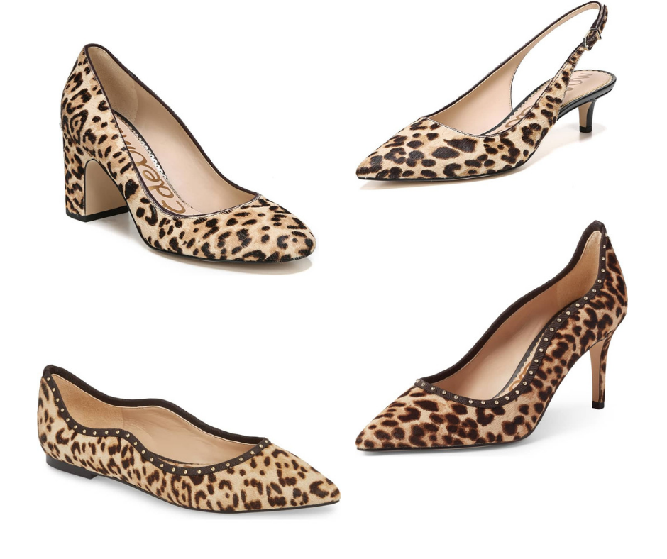 Saturday Shoe Sales Sam Edelman Leopard Print