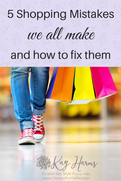 5 Shopping Mistakes
