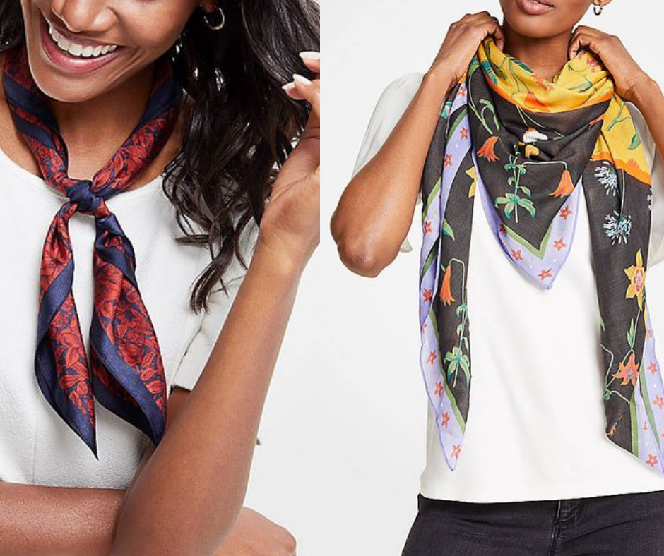 7 Ways to Elevate from Simple to Stylish - Scarves
