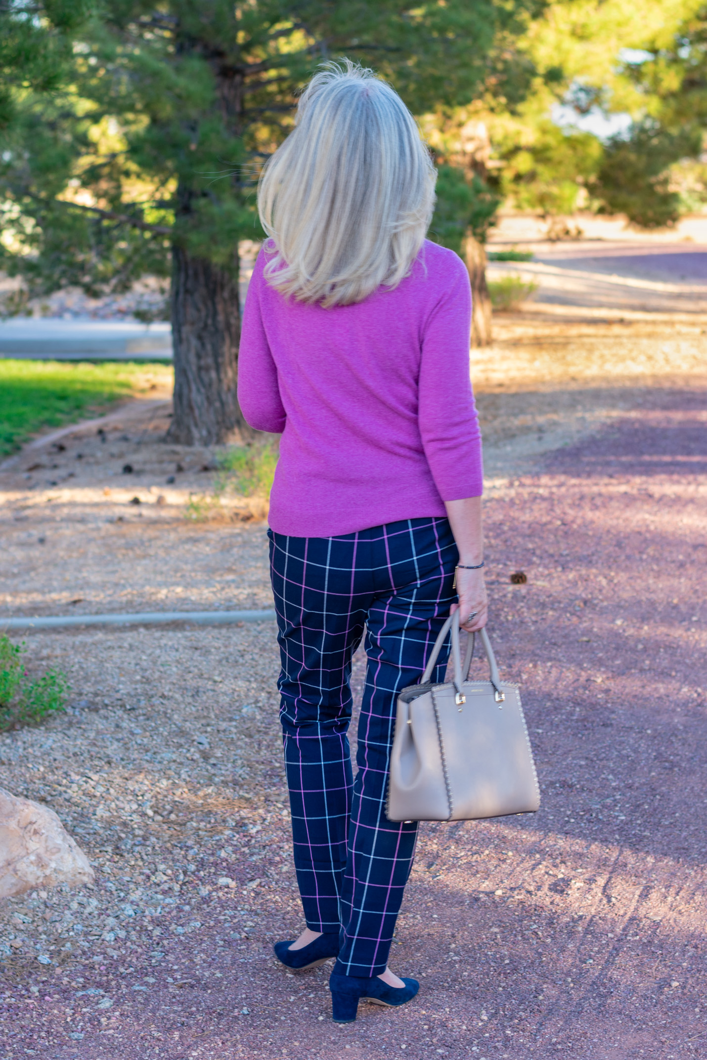 Classic Fall Plaid and Soft Cashmere