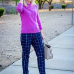 Classic Fall Plaid and Soft Cashmere