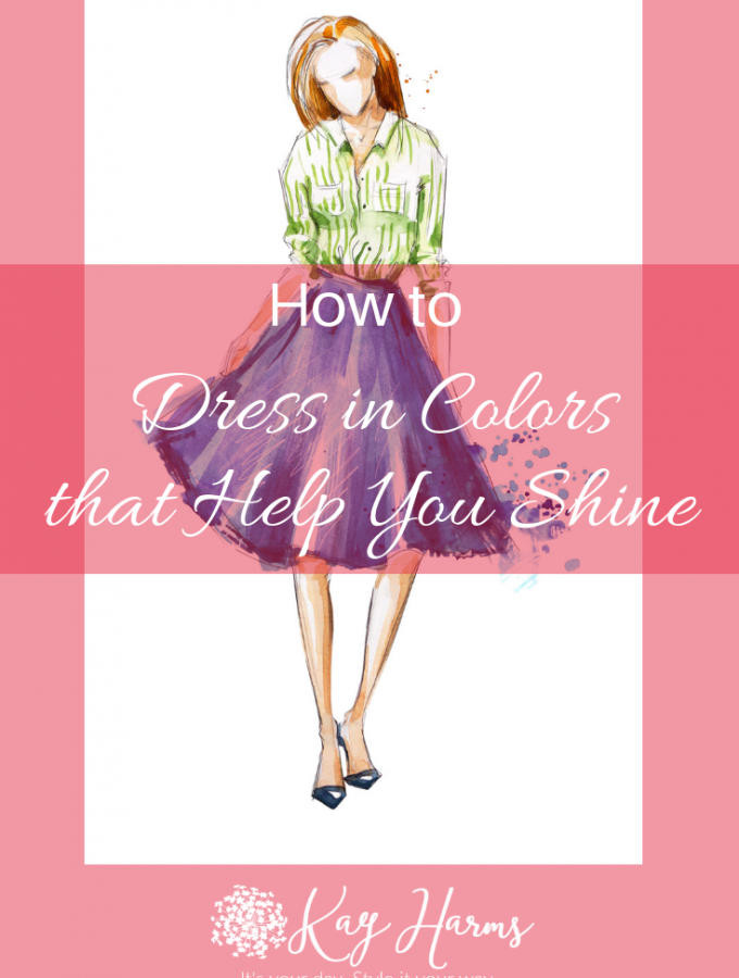 How to Dress in Colors that Help You Shine