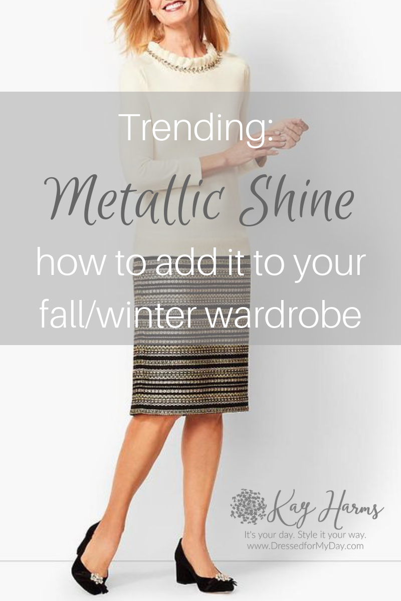 Trending Metallic Shine