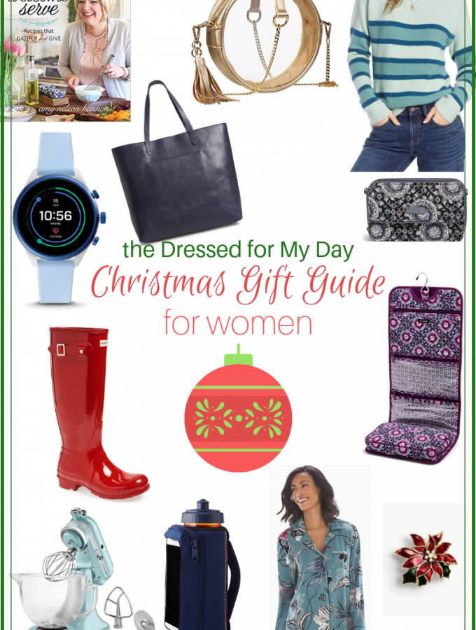 How I Really Dressed for My Day + Christmas Gift Guide for Women