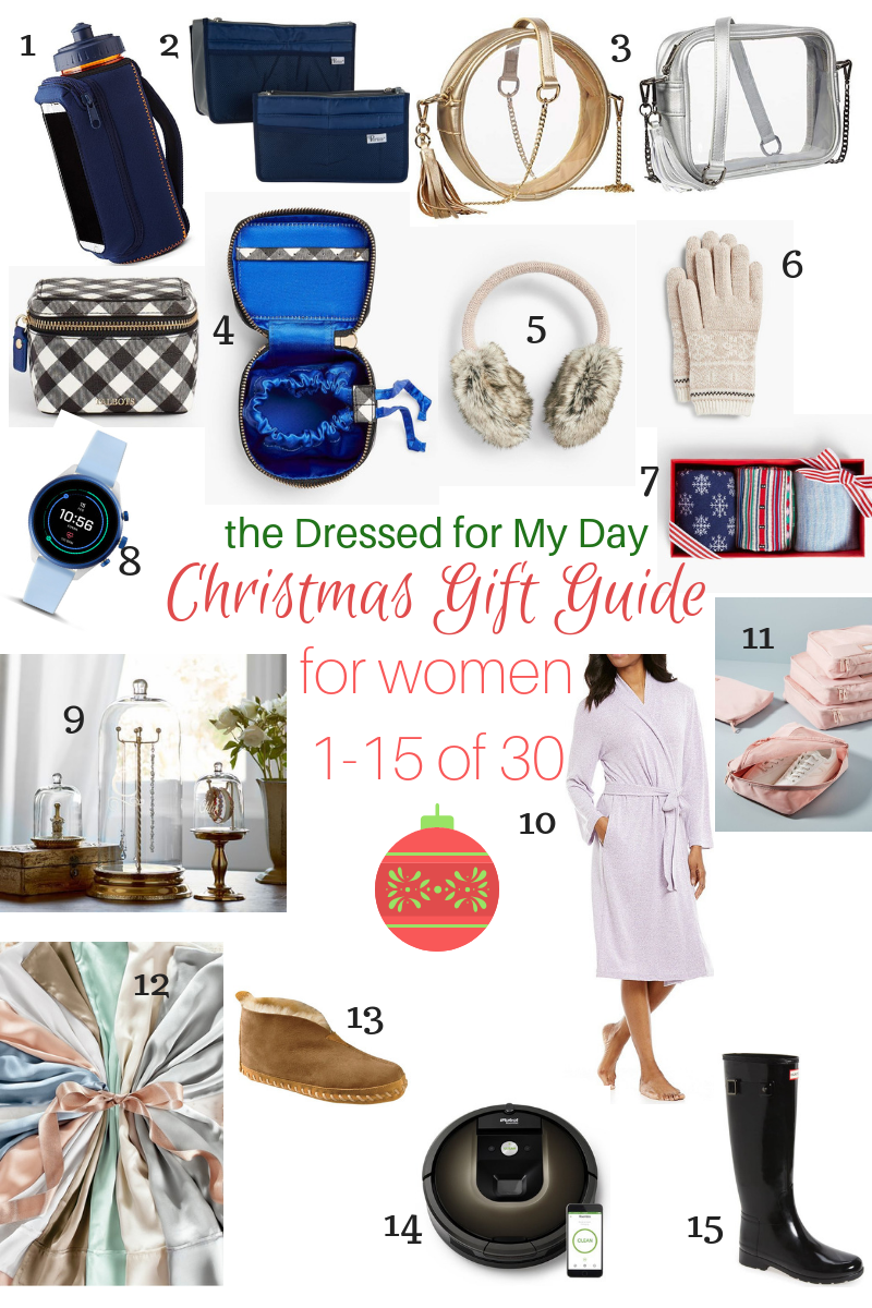 Gift Guide for Women - Christmas 2018 - Dressed for My Day