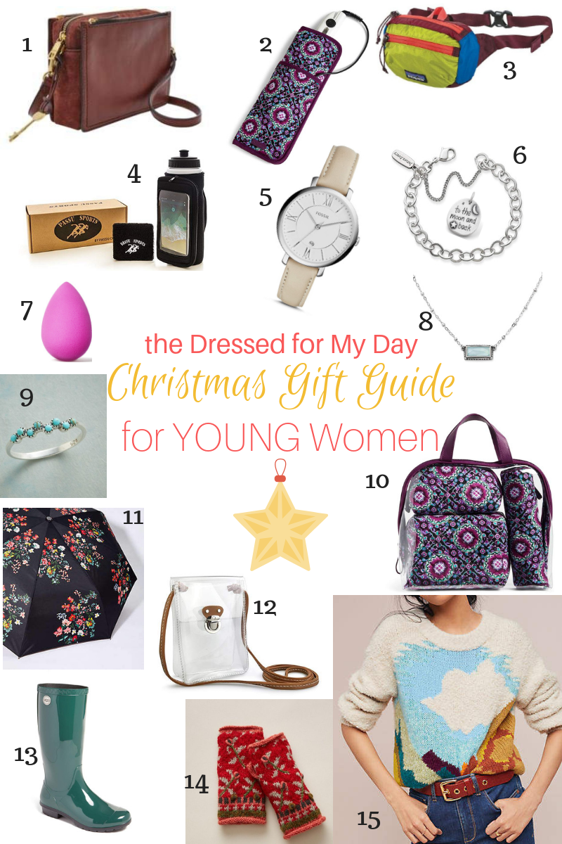 Christmas 2018 Gift Guide for Young Women 1-15