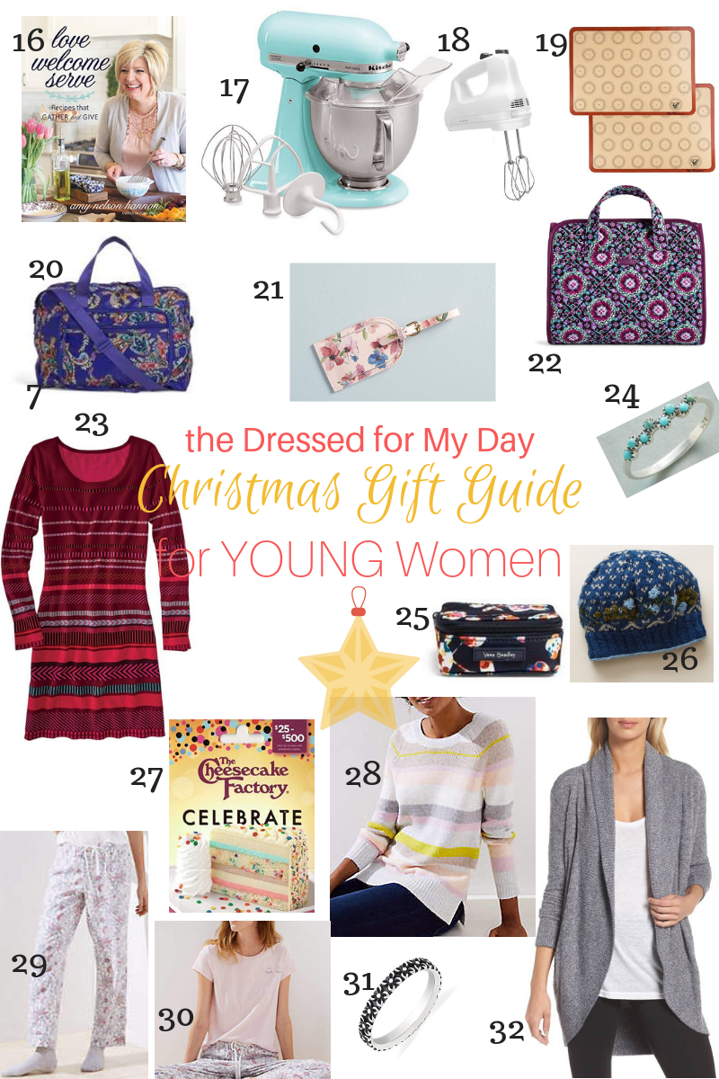Christmas 2018 Gift Guide for Young Women 16-32
