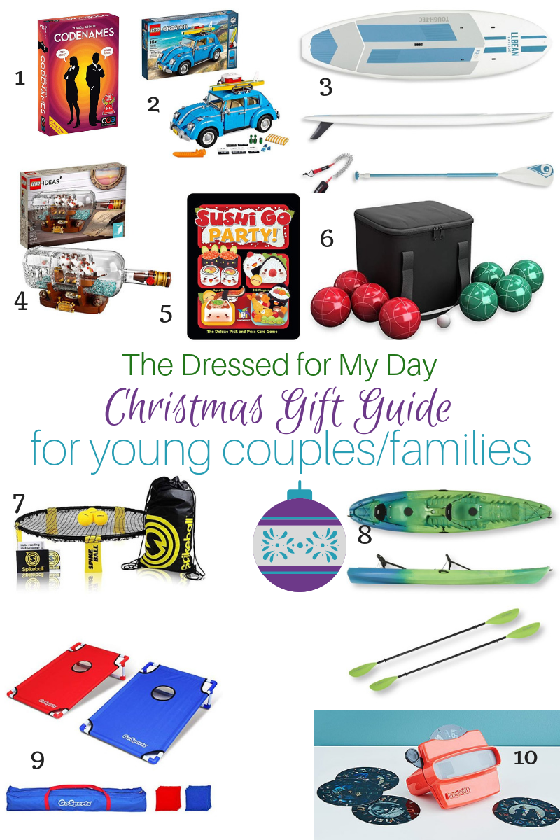 Christmas 2018 Gift Guide for Young couples & families 1-10
