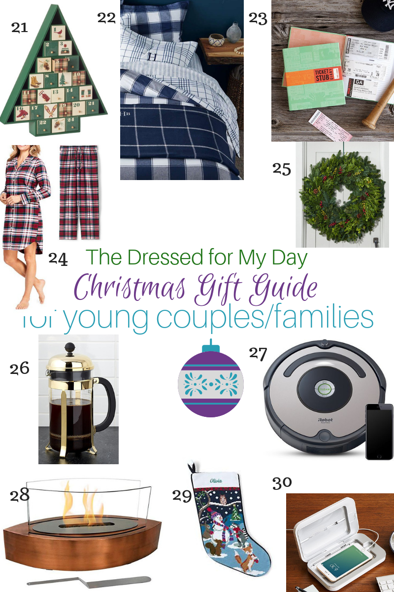 Christmas 2018 Gift Guide for Young couples & families 21-30