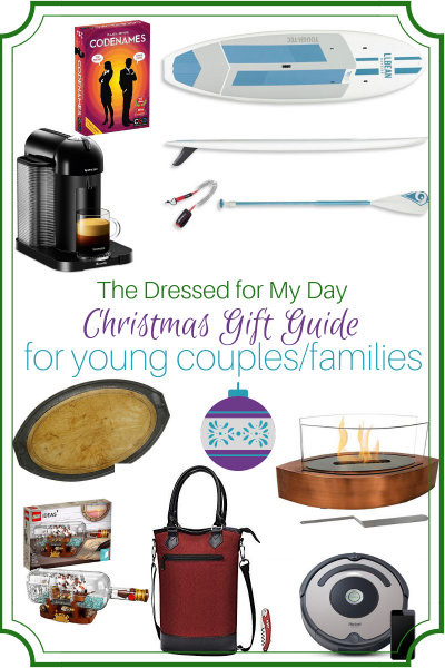 Christmas 2018 Gift Guide for Young couples & families