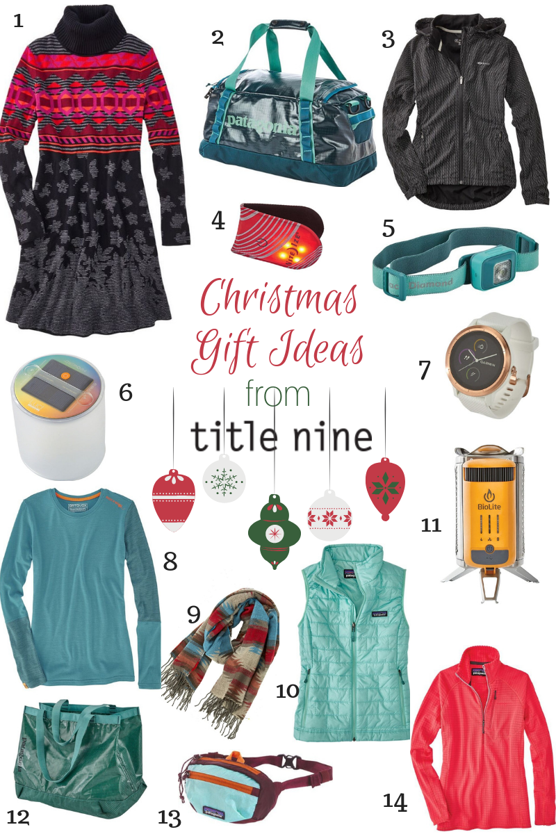 Christmas Gift Ideas from Title Nine