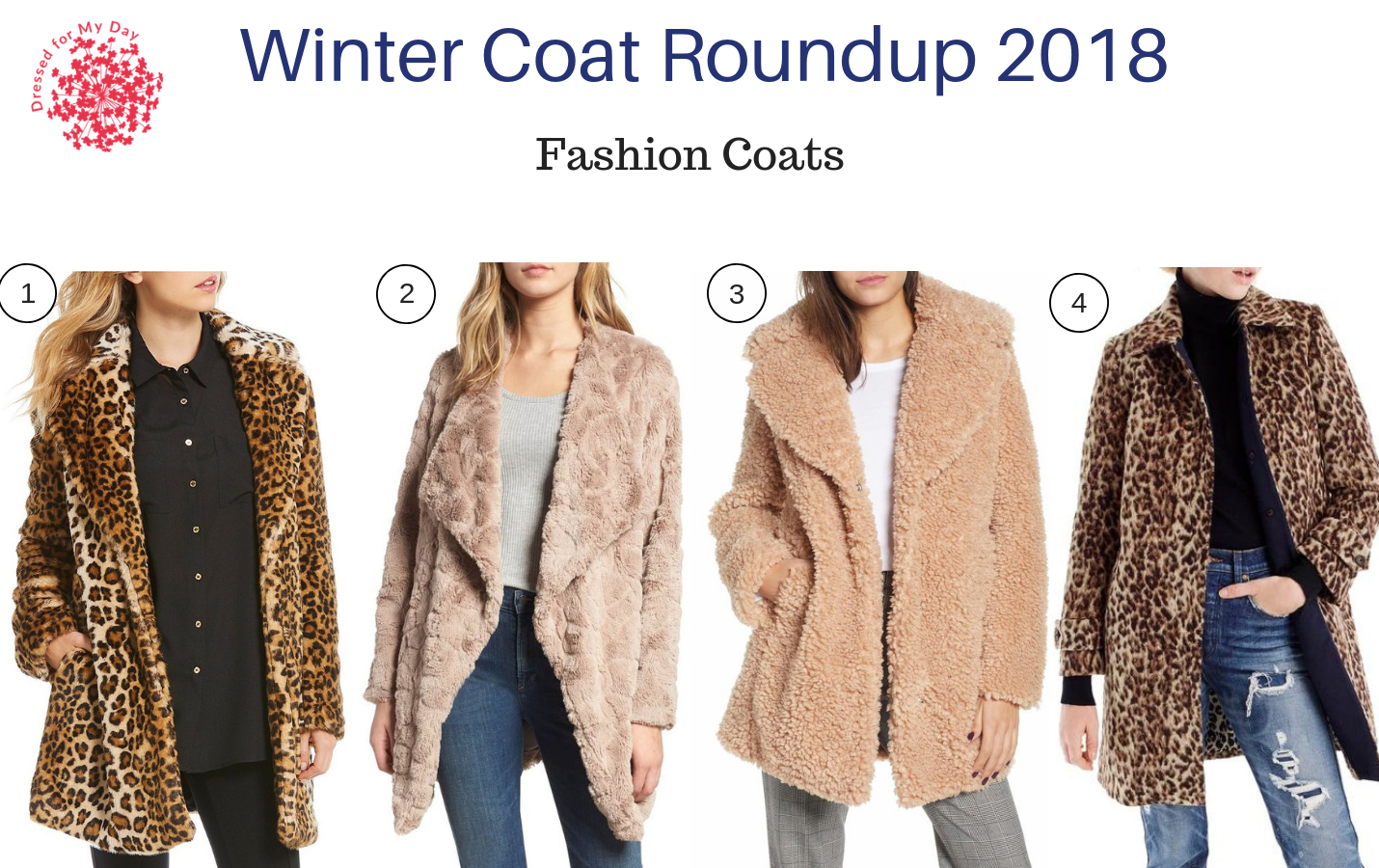 Winter Coat Roundup 2018 Fashion Coats