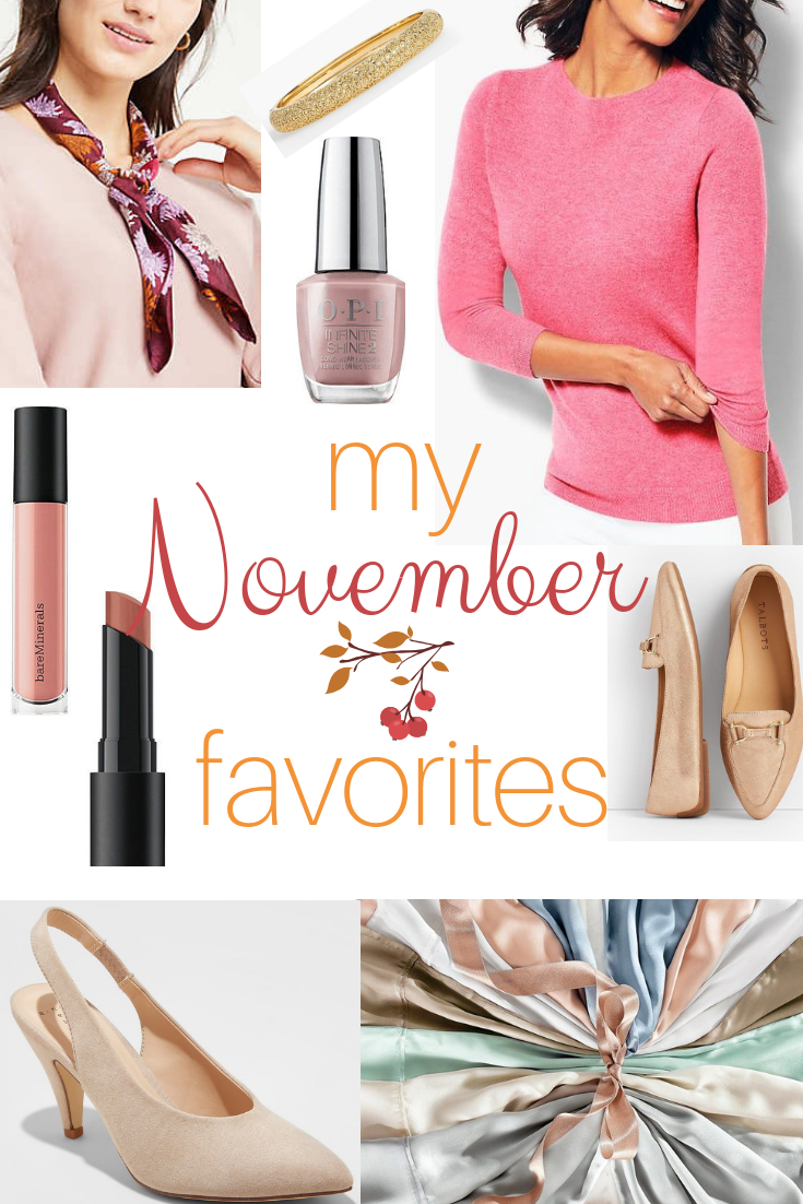 My November 2018 Favorites