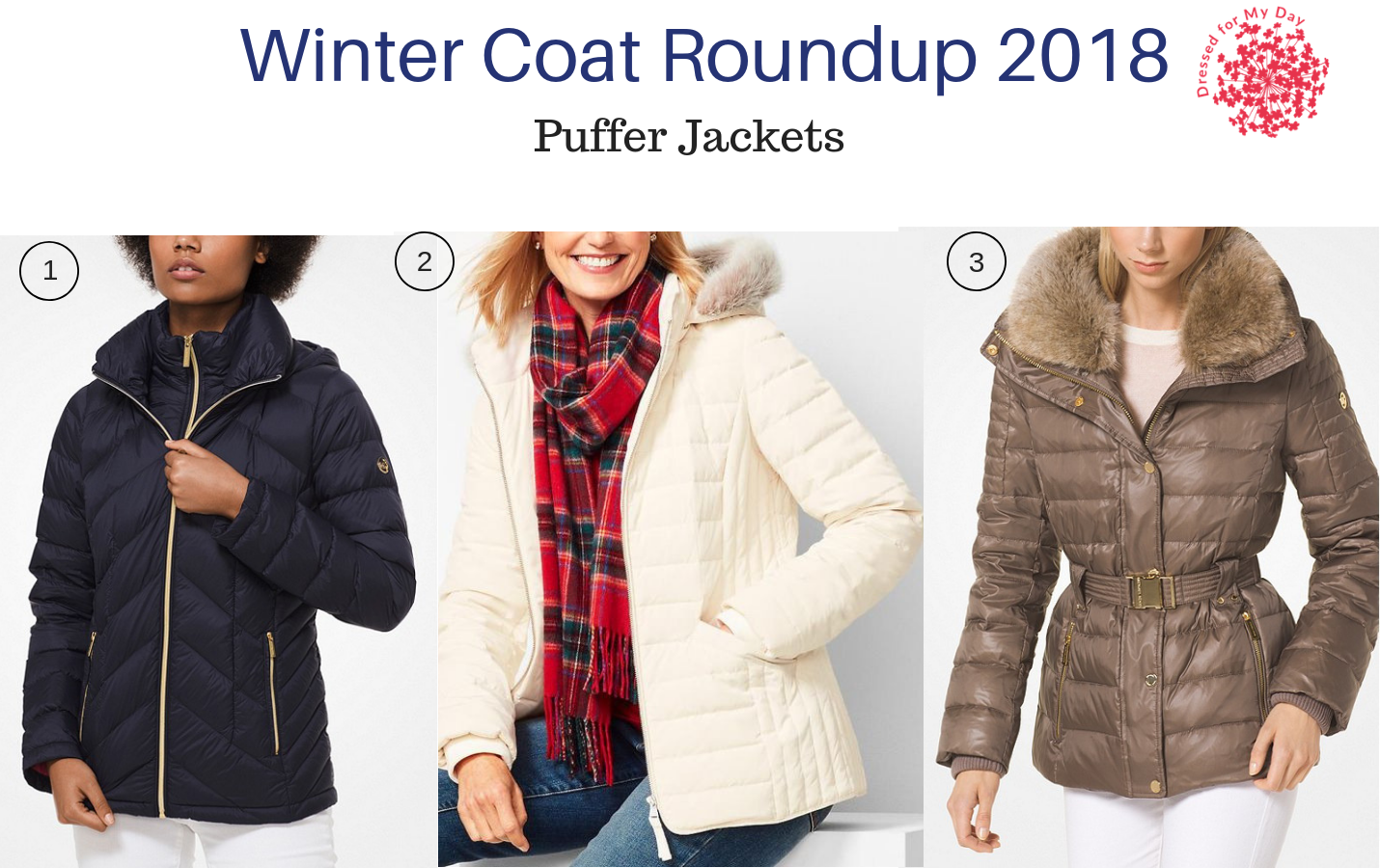 Winter Coat Roundup 2018 Puffer Jackets