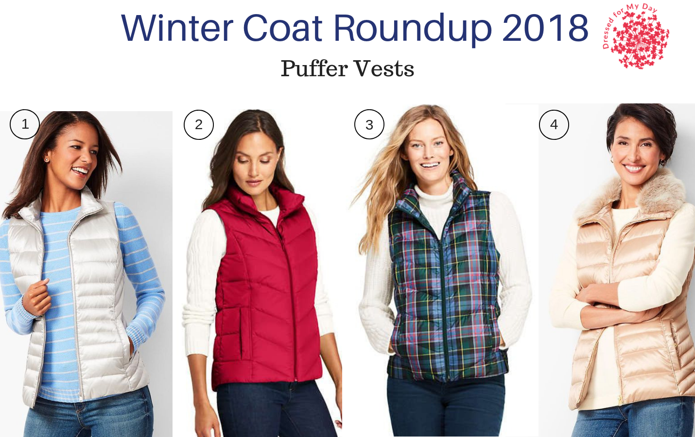 Winter Coat Roundup 2018 Puffer Vests